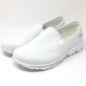 Skechers Go Walk Classic Adorn White 8.5 W